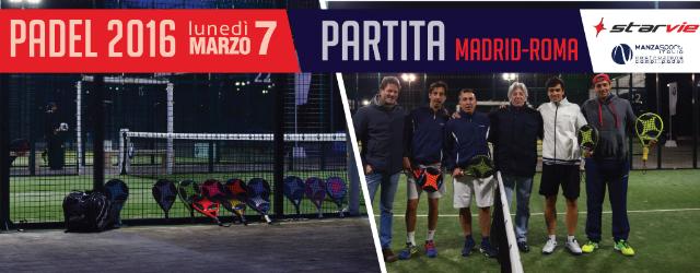 II Evento Madrid Roma MANZASPORT Itlia STARVIE