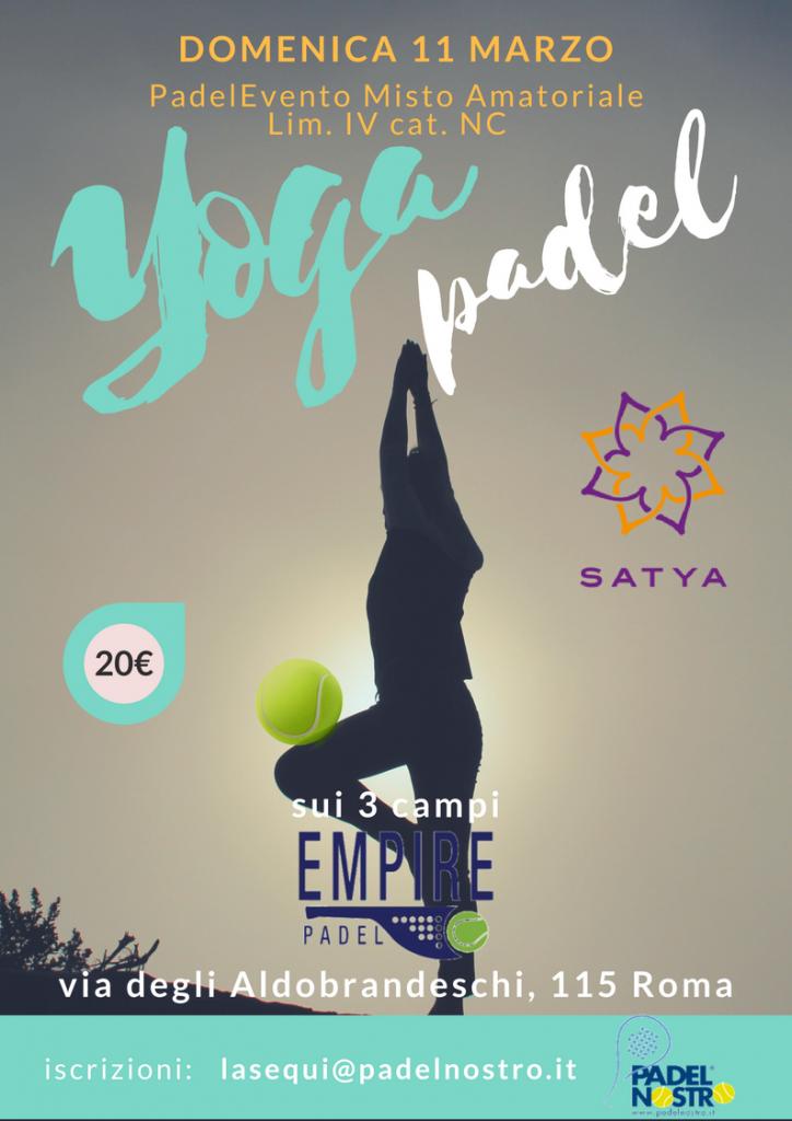 Yoga Padel PadelNostro EmpirePadel