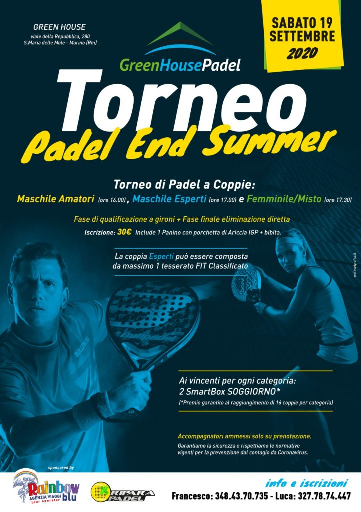 torneo padel end summer
