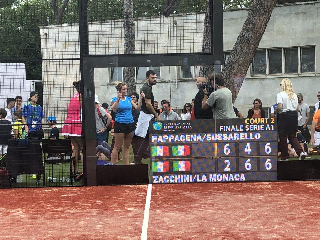 padel foro italico roma internazionali tennis